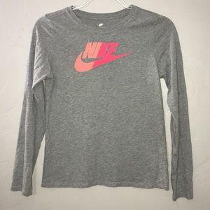 Nike Long-sleeve Tee In GUC